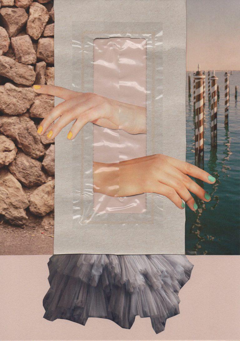 Québec Collage / Projet Boîte à Mouchoir / Mimi Wasilewska