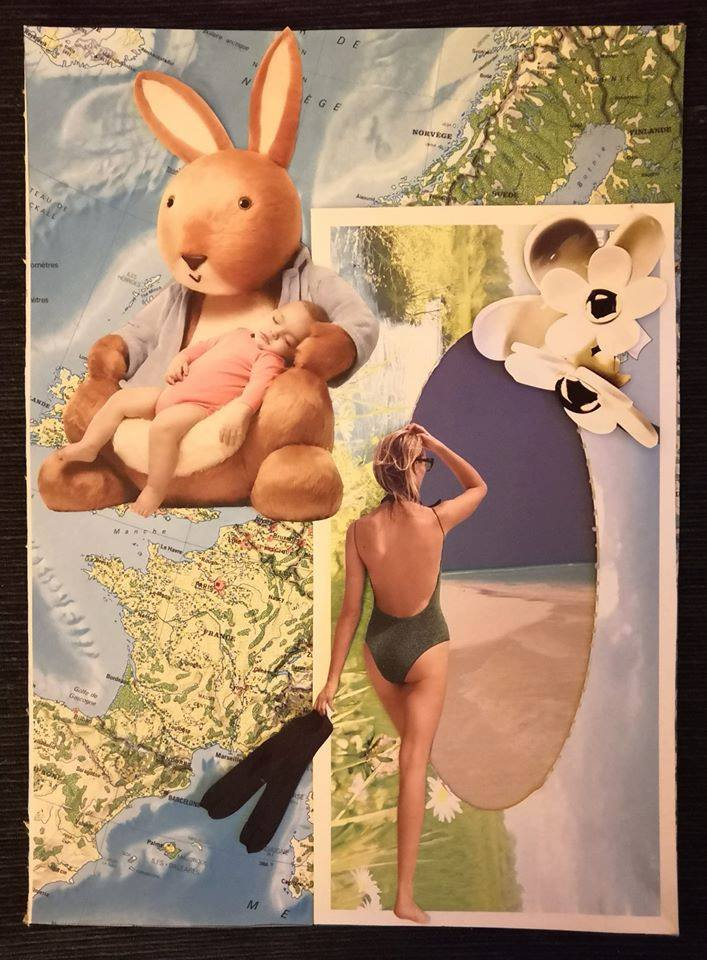 Québec Collage / Projet Boîte à Mouchoir / Cathy Joly