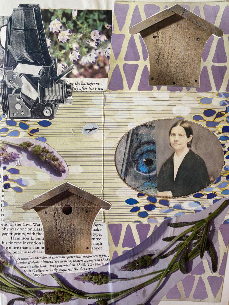 Québec Collage / Projet Boîte à Mouchoir / Kenzie Dickens