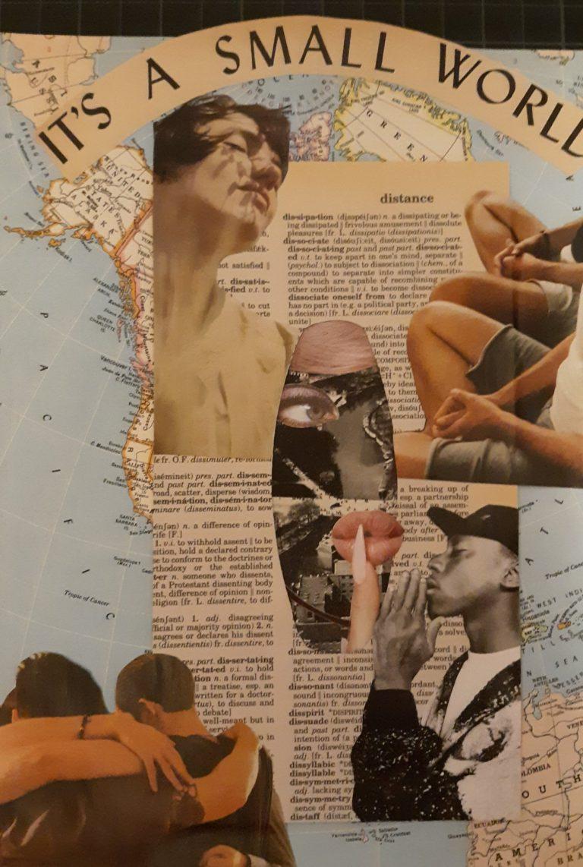 Québec Collage / Projet Boîte à Mouchoir / Laura Henneforth