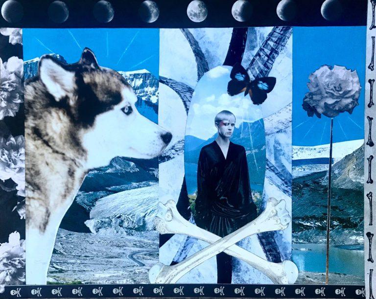 Québec Collage / Projet Boîte à Mouchoir / Lady Nightfall