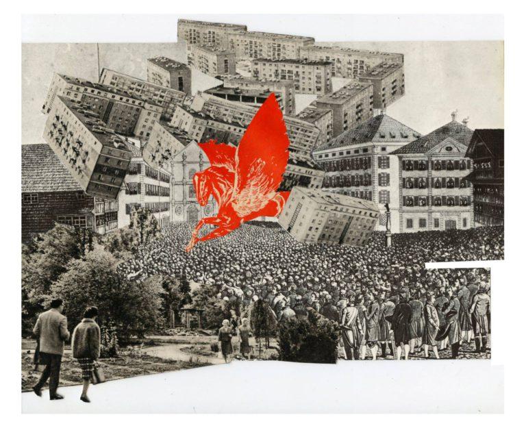 Québec Collage / Projet Boîte à Mouchoir / Raf Cruz
