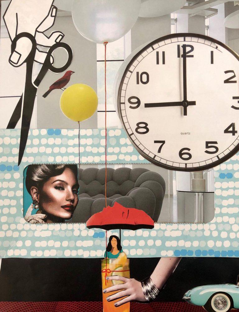 Québec Collage / Projet Boîte à Mouchoir / Cheryl Kater