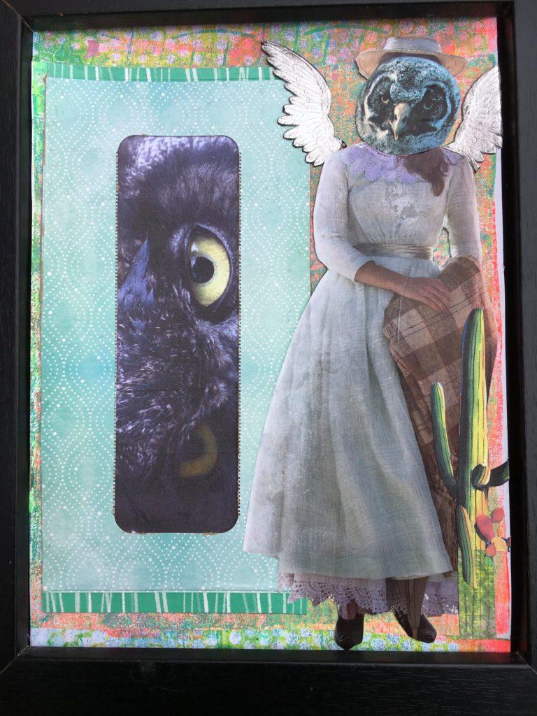 Québec Collage / Projet Boîte à Mouchoir / Veronica Bartlett