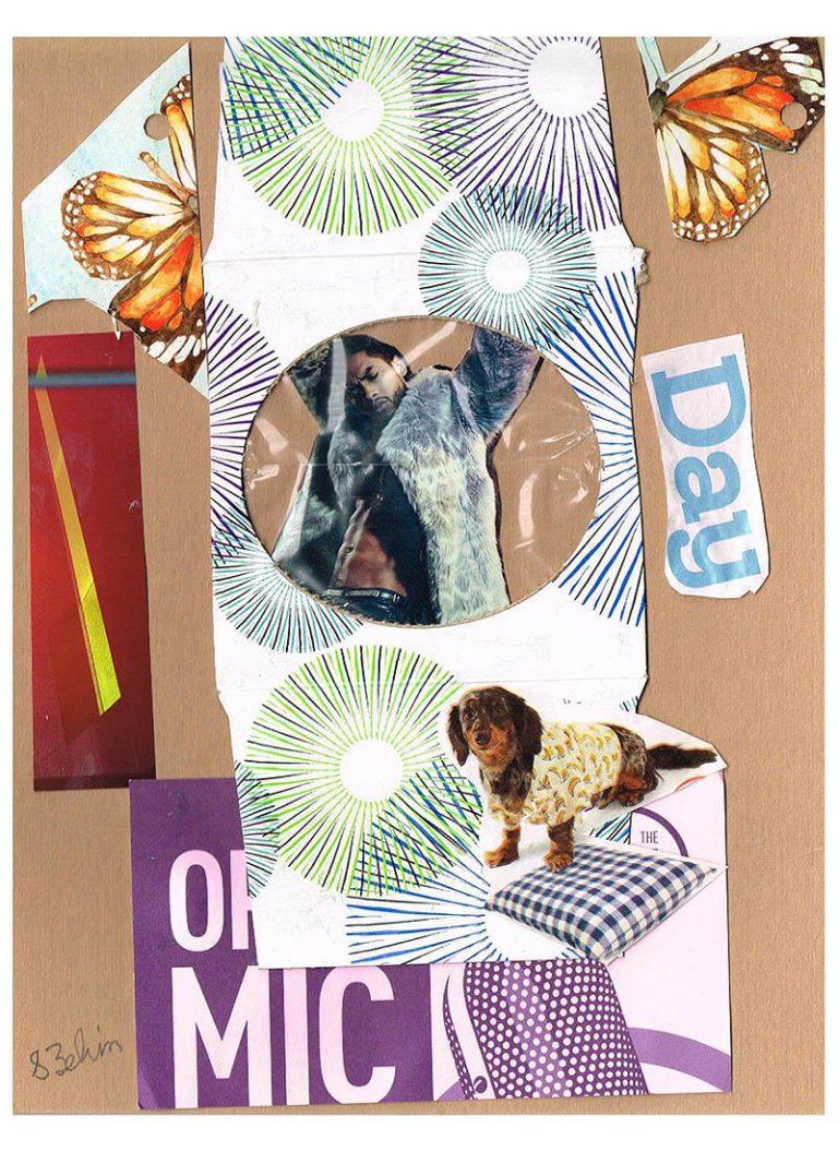 Québec Collage / Projet Boîte à Mouchoir / Susan Zelin