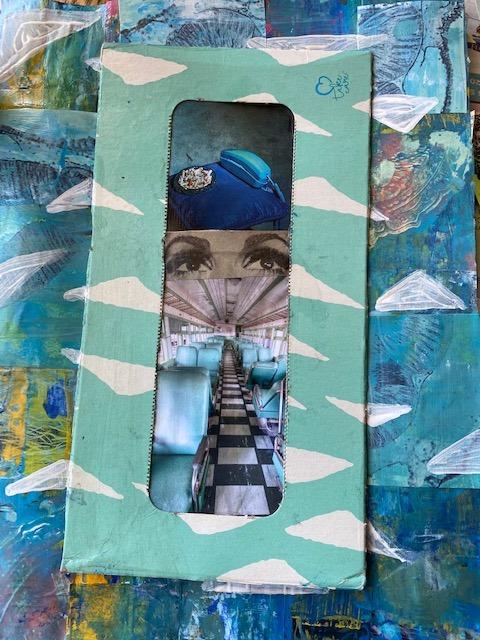 Québec Collage / Projet Boîte à Mouchoir / Amy Maute