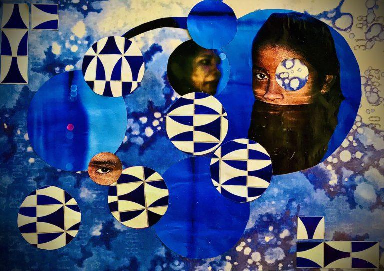 Québec Collage / Projet Bleu / Renata Couto