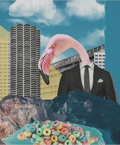 Québec Collage / Projet Bleu / Sarah Benzine