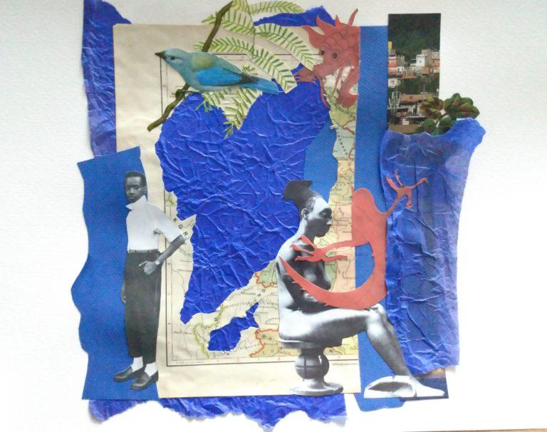 Québec Collage / Projet Bleu / Aline Haluch