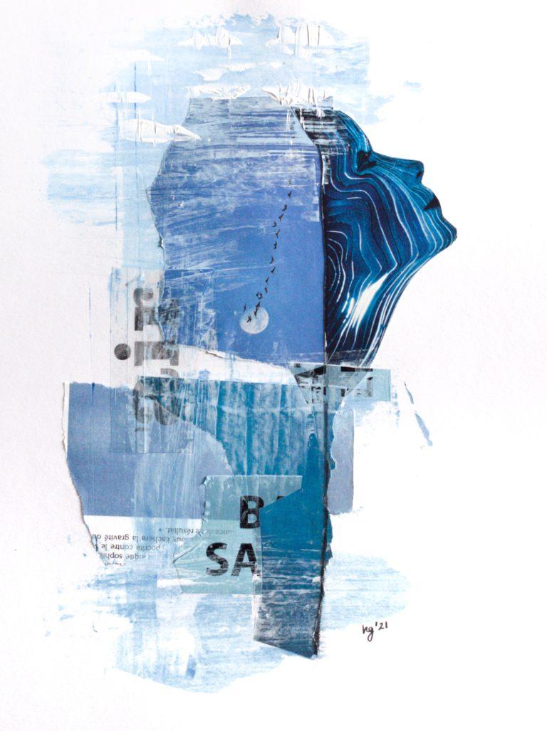 Québec Collage / Projet Bleu / Hélène Gallant