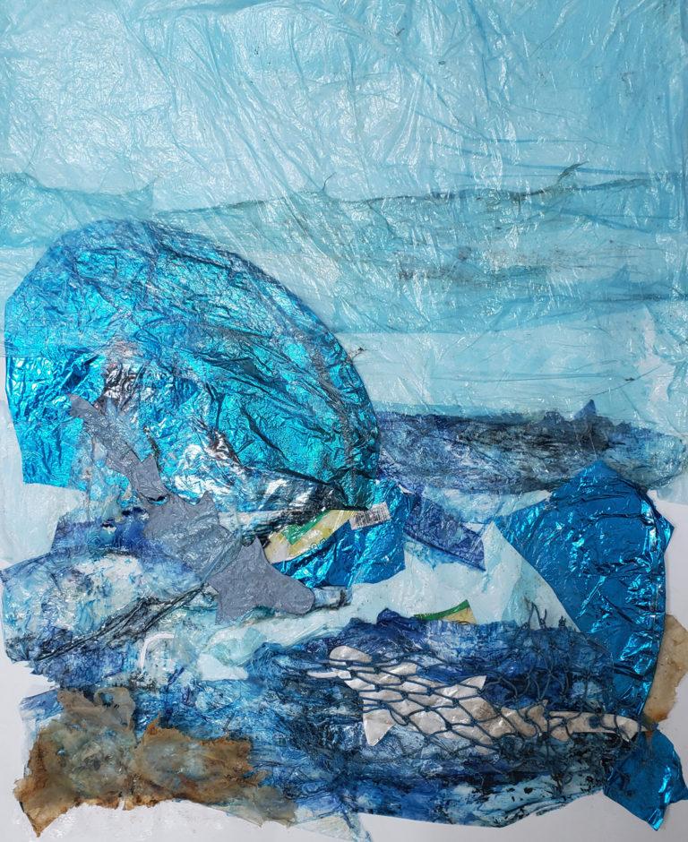 Québec Collage / Projet Bleu / Valerie Ashton