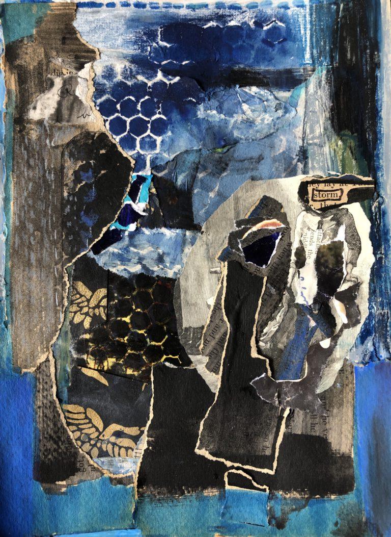 Québec Collage / Projet Bleu / Holly Edwards
