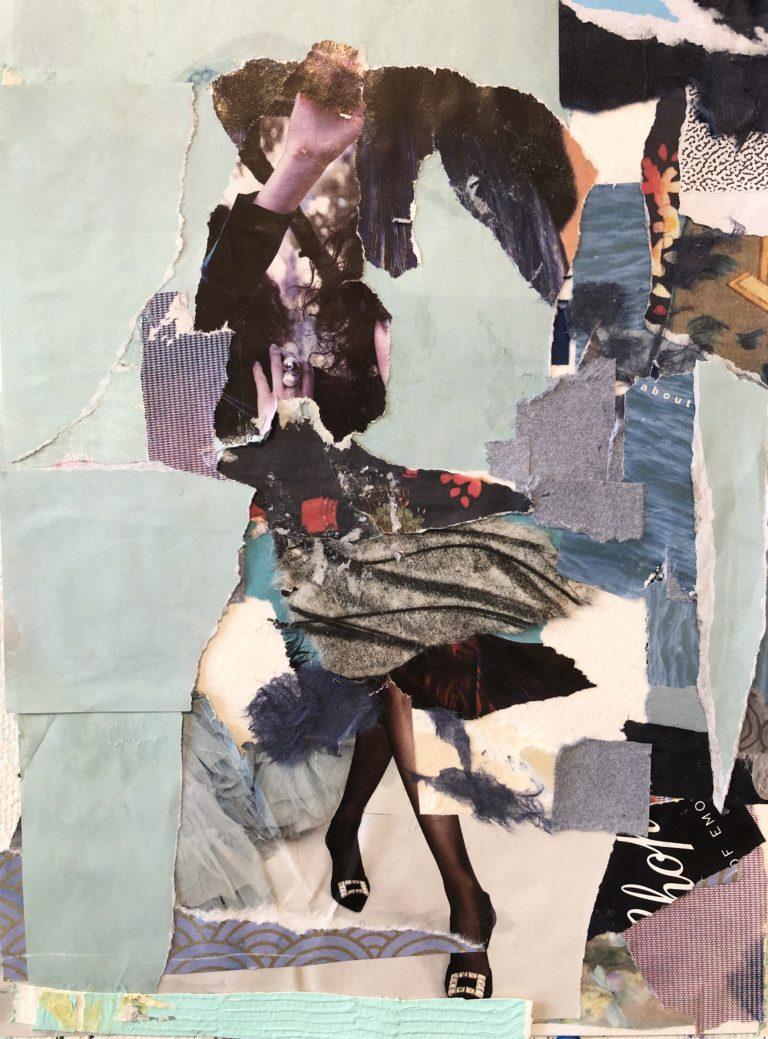Québec Collage / Projet Bleu / Caroline R-Gruselle