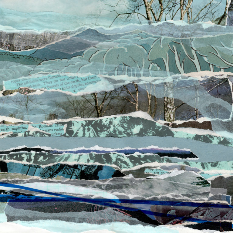 Québec Collage / Projet Bleu / Sharon Hall Shipp