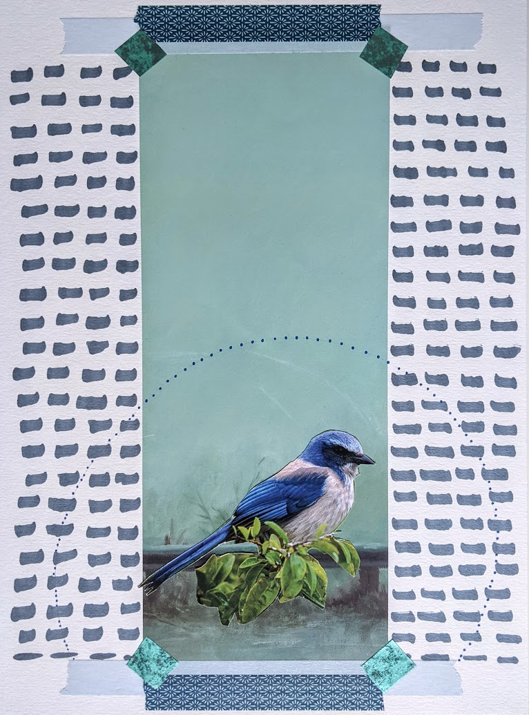 Québec Collage / Projet Bleu / Danielle Schardinger