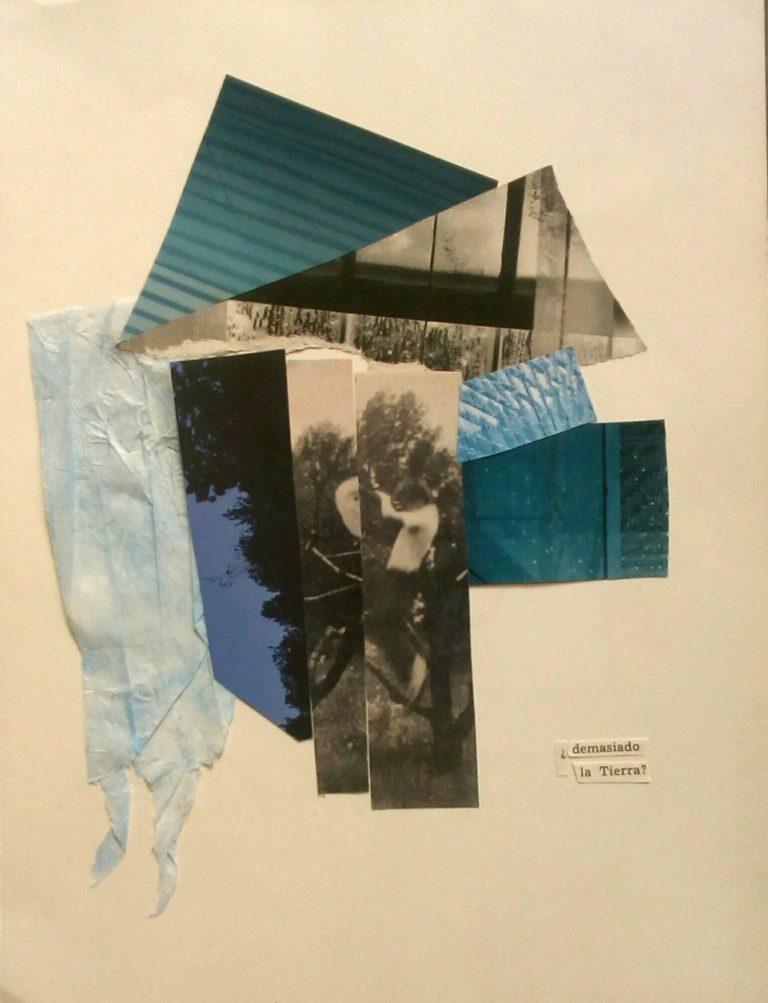 Québec Collage / Projet Bleu / Laura Puchet