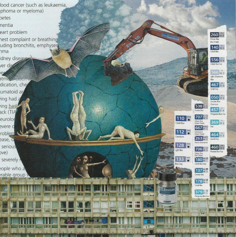 Québec Collage / Projet Bleu / Jennifer Wallace