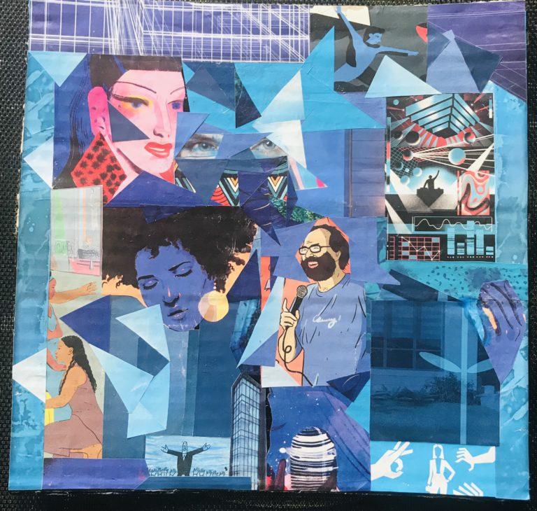 Québec Collage / Projet Bleu / Natacha Odonnat