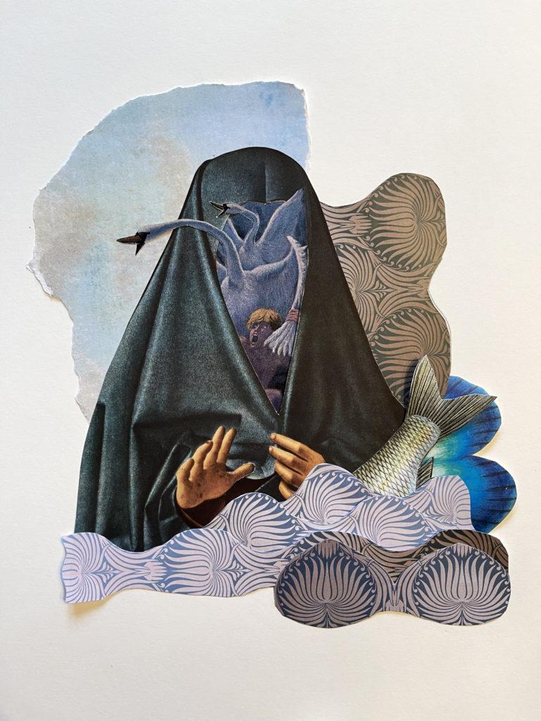 Québec Collage / Projet Bleu / María López-Linares