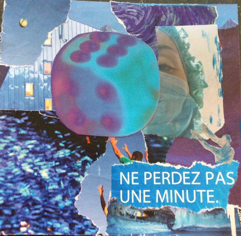 Québec Collage / Projet Bleu / Danielle Mathier