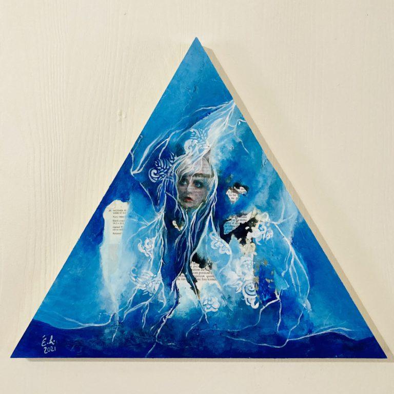 Québec Collage / Projet Bleu / Émilie Léger