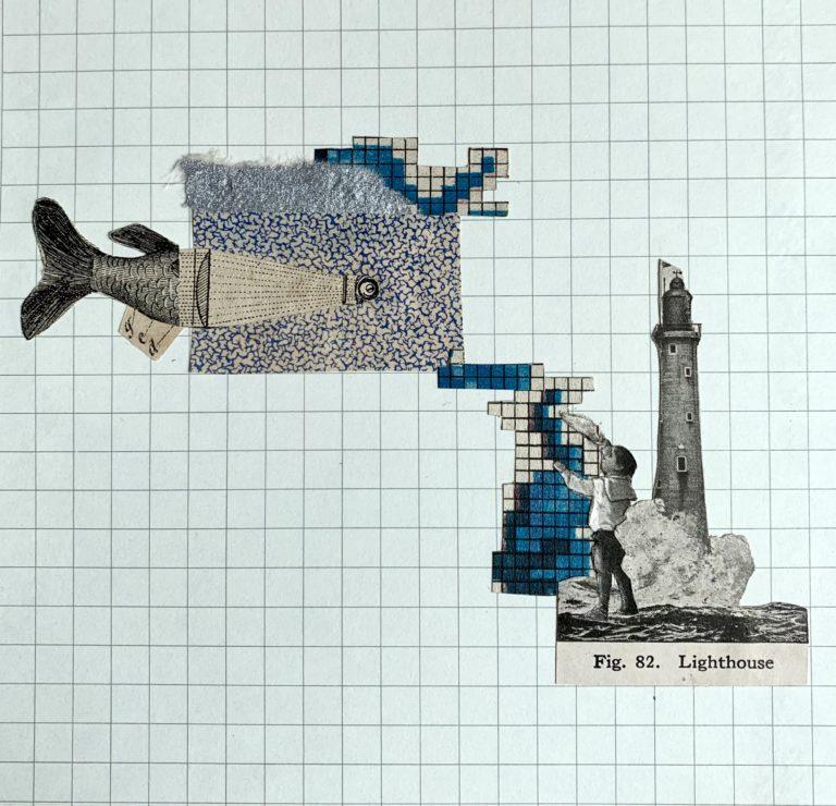 Québec Collage / Projet Bleu / Adriana Pardo