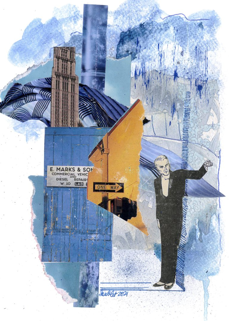 Québec Collage / Projet Bleu / Sarah Saublet
