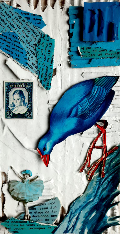 Québec Collage / Projet Bleu / Martine Vadnais