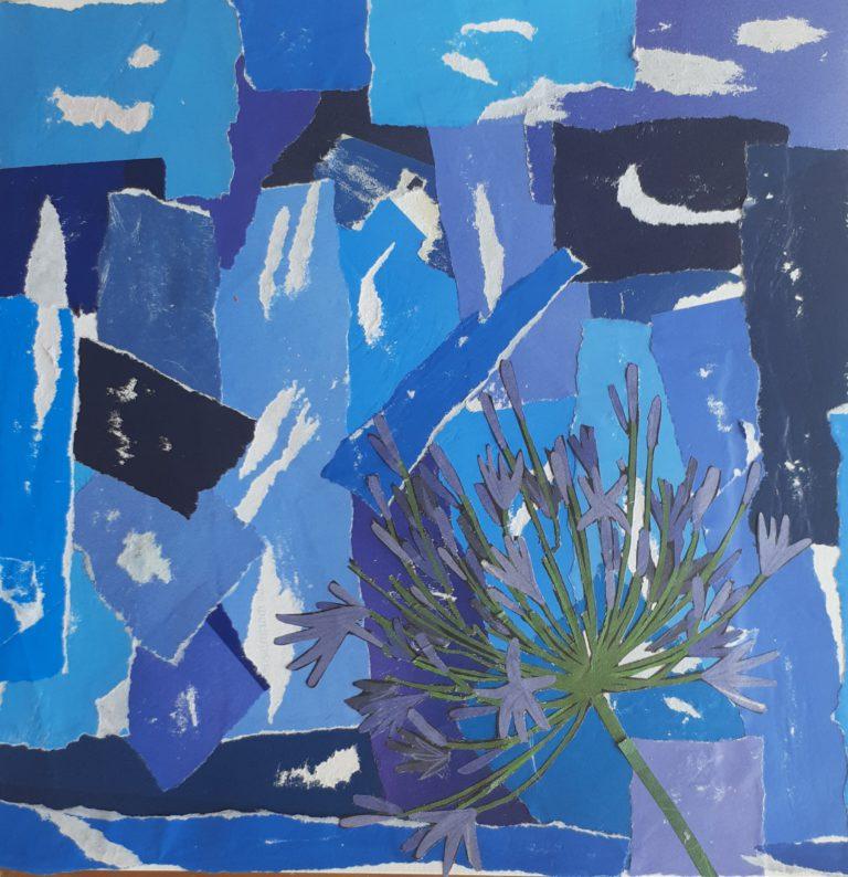 Québec Collage / Projet Bleu / lara Carvalho