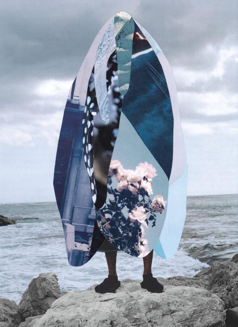 Québec Collage / Projet Bleu / Michelle Concetta Parchini