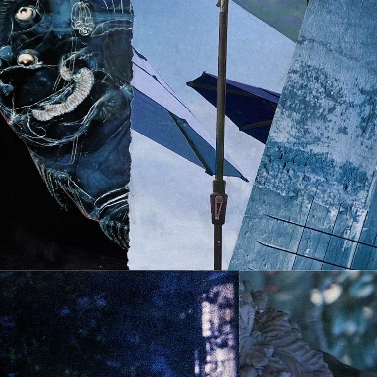 Québec Collage / Projet Bleu / Diane Cameron