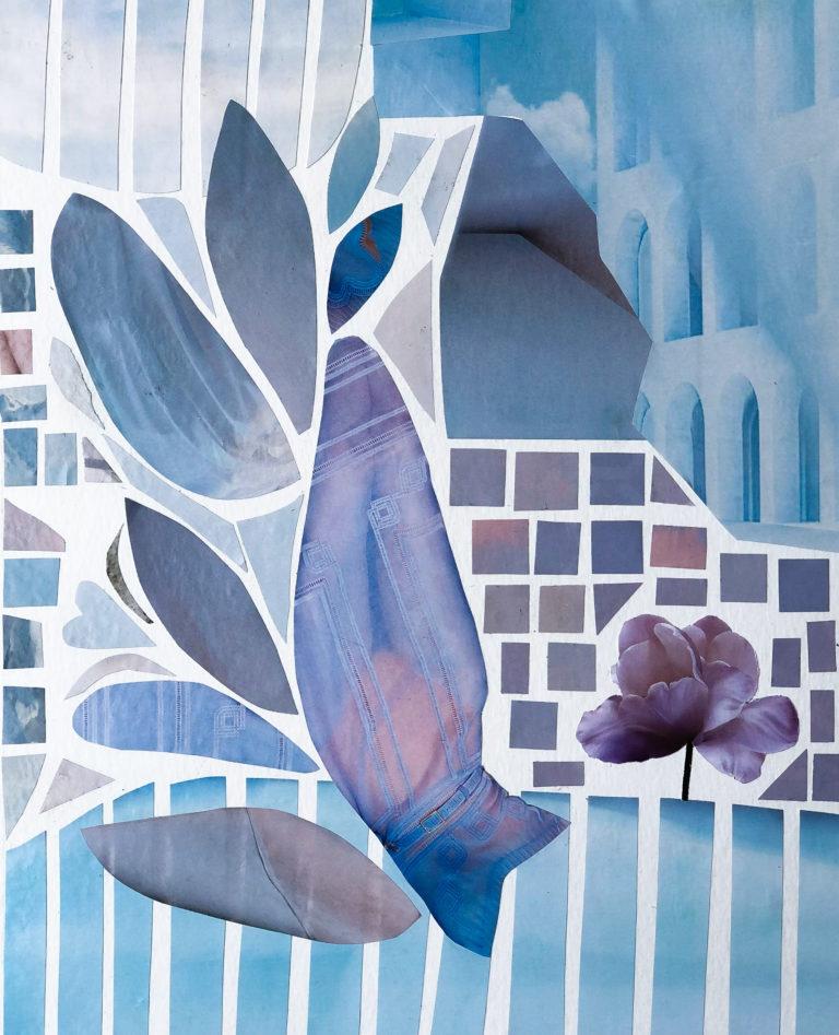 Québec Collage / Projet Bleu / Patricia Doucet