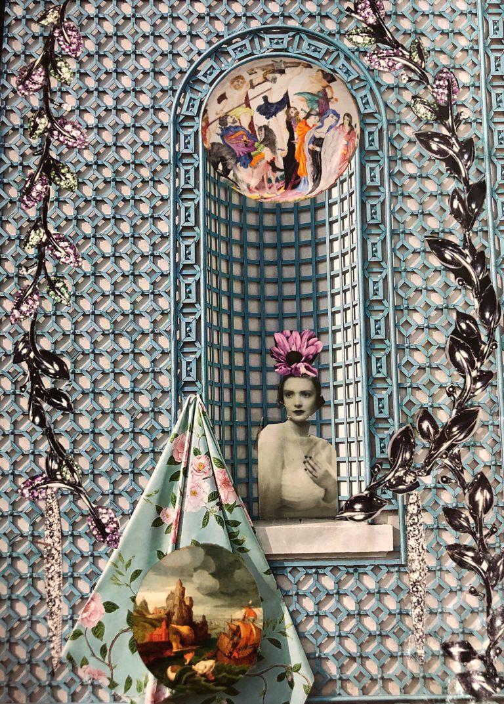 Québec Collage / Projet Bleu / Cristina Daher