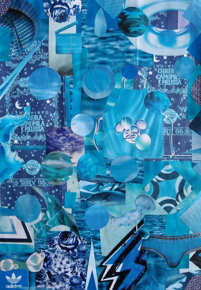 Québec Collage / Projet Bleu / Edilson Viriato