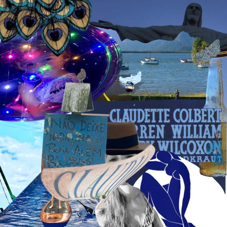 Québec Collage / Projet Bleu / Simone Trombini