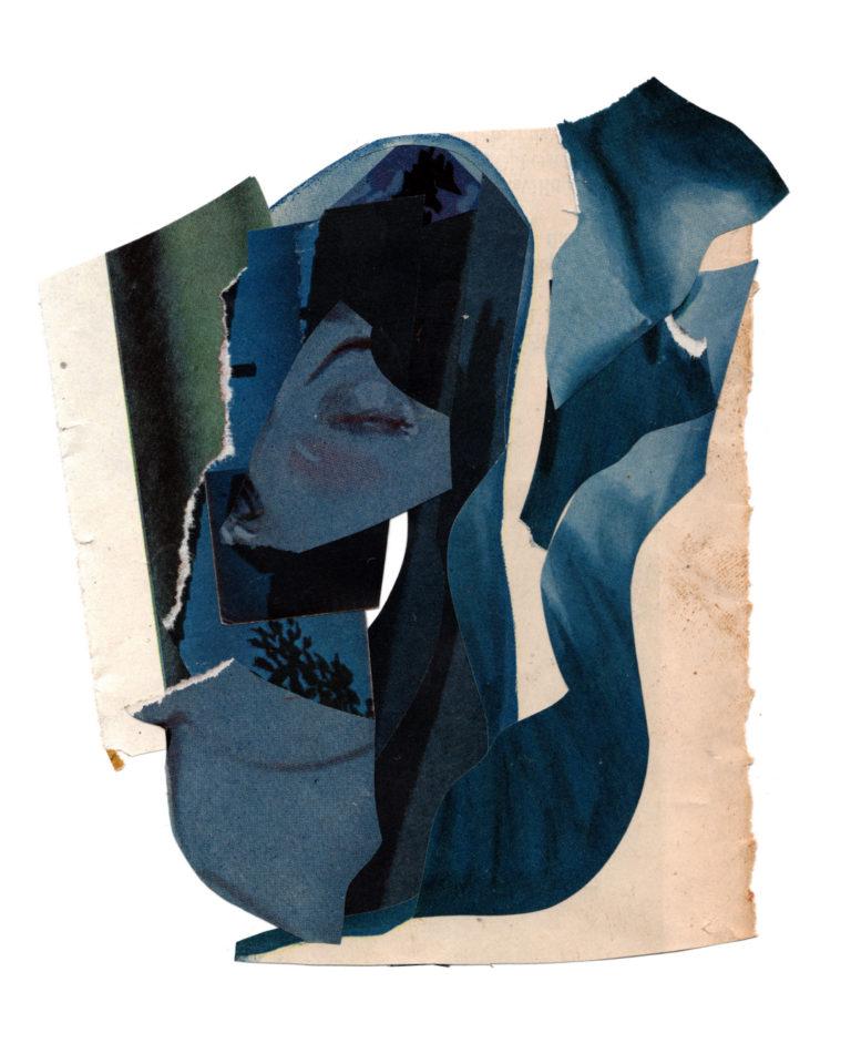 Québec Collage / Projet Bleu / allison anne