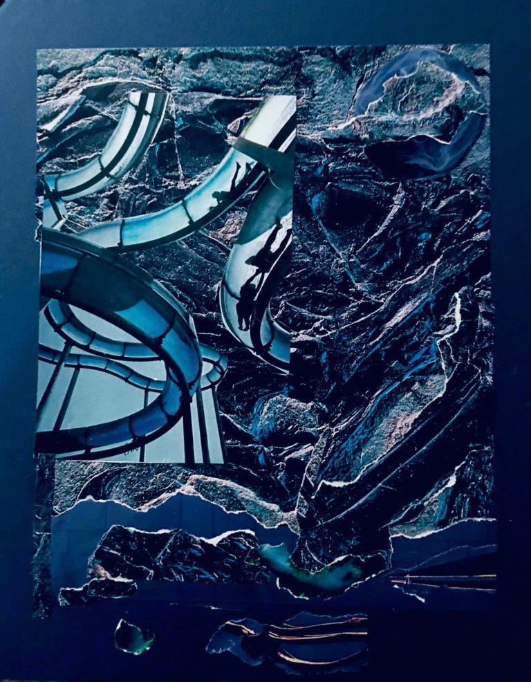 Québec Collage / Projet Bleu / Simone Bourque