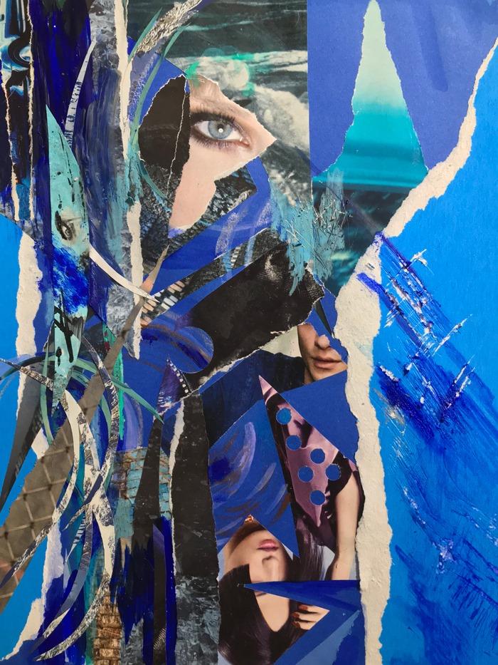 Québec Collage / Projet Bleu / Virginie Maltais